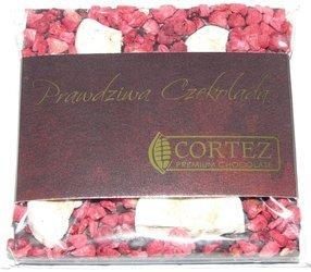 Cortez mini-czekolada ciemna banan i malina