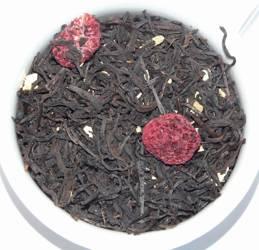 Herbata czarna - Malinowa Panna Cotta