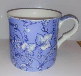 Kubek porcelanowy QUITO 300ml niebieski