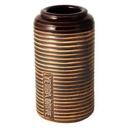 Matero ceramiczne w prążki 260ml samochodowe