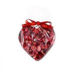 Serce z ciemnej czekolady z żurawiną 50g Cortez