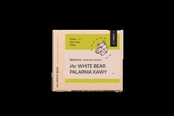 The White Bear Brazylia Fazenda 250g kawa ziarn.