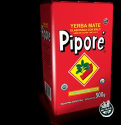Yerba Mate Pipore Elaborada Con Palo 500g