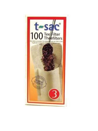 Filtry jednorazowe do herbaty t-sac 3