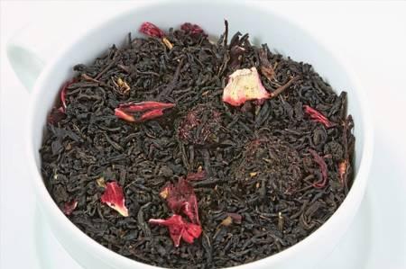 Herbata czarna - Wiśnie w Rumie
