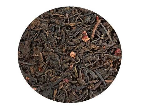 Herbata czerwona - Pu Erh Dotyk Anioła -Poziomkowa