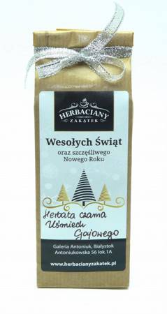 Herbata świąteczna 50g WESOŁYCH ŚWIĄT II