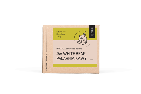 The White Bear Brazylia Fazenda 250g kawa ziarnista