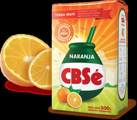 Yerba Mate CBSe Naranja 500g pomarańczowa